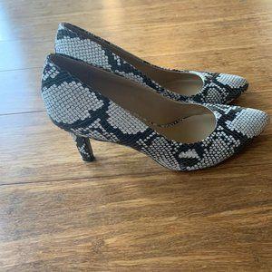 Naturalizer EVIE SNAKESKIN High Heel Shoes